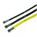 Wąż LP 1,50 m żółty Proflex, w oplocie
