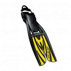 Płetwy TWIN JET MAX ze sprężynami żółte: S.M.L.XL