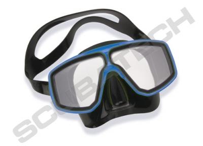 Maska Corsica / czarno-niebieska