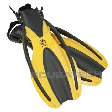 Płetwy XPower, żółte