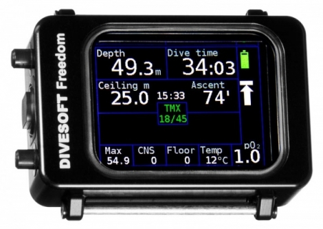 Komputer Divesoft FREEDOM Advanced Nitrox