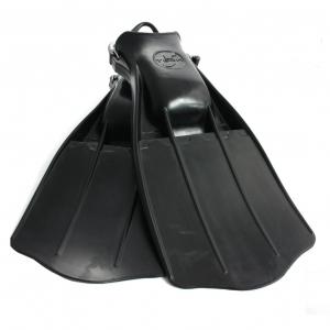 Płetwy gumowe JetStream, ze sprężynami czarne
