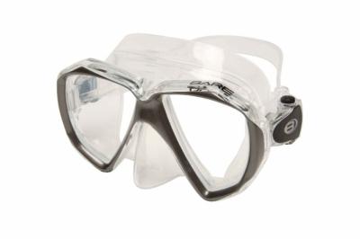 Maska Bare DUO C / przeźroczysto-srebrna